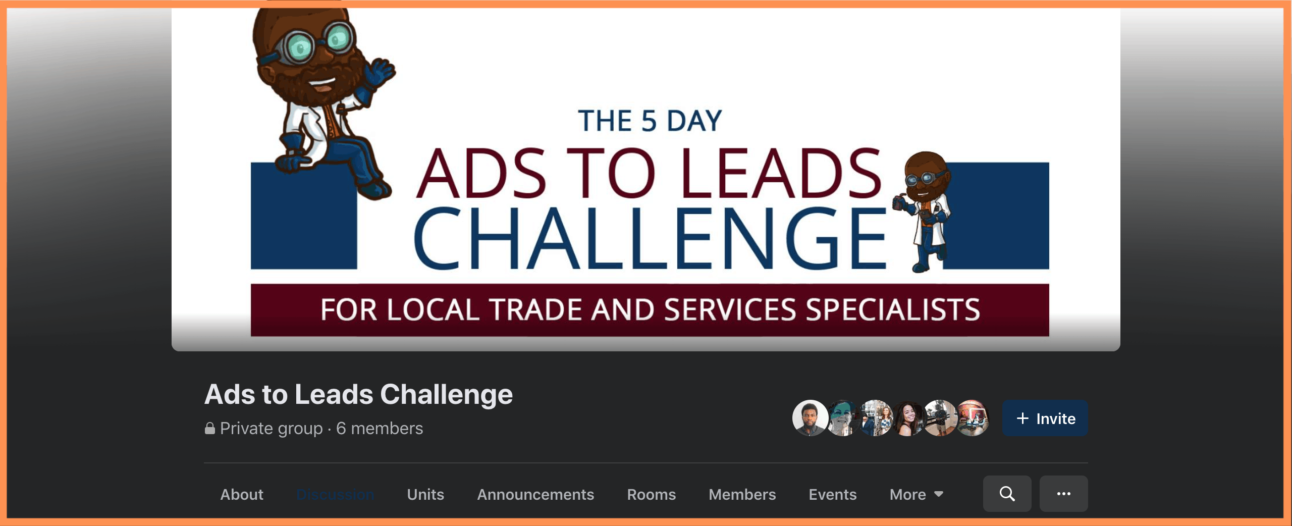 5 Day Ads to Leads Challenge FB Group