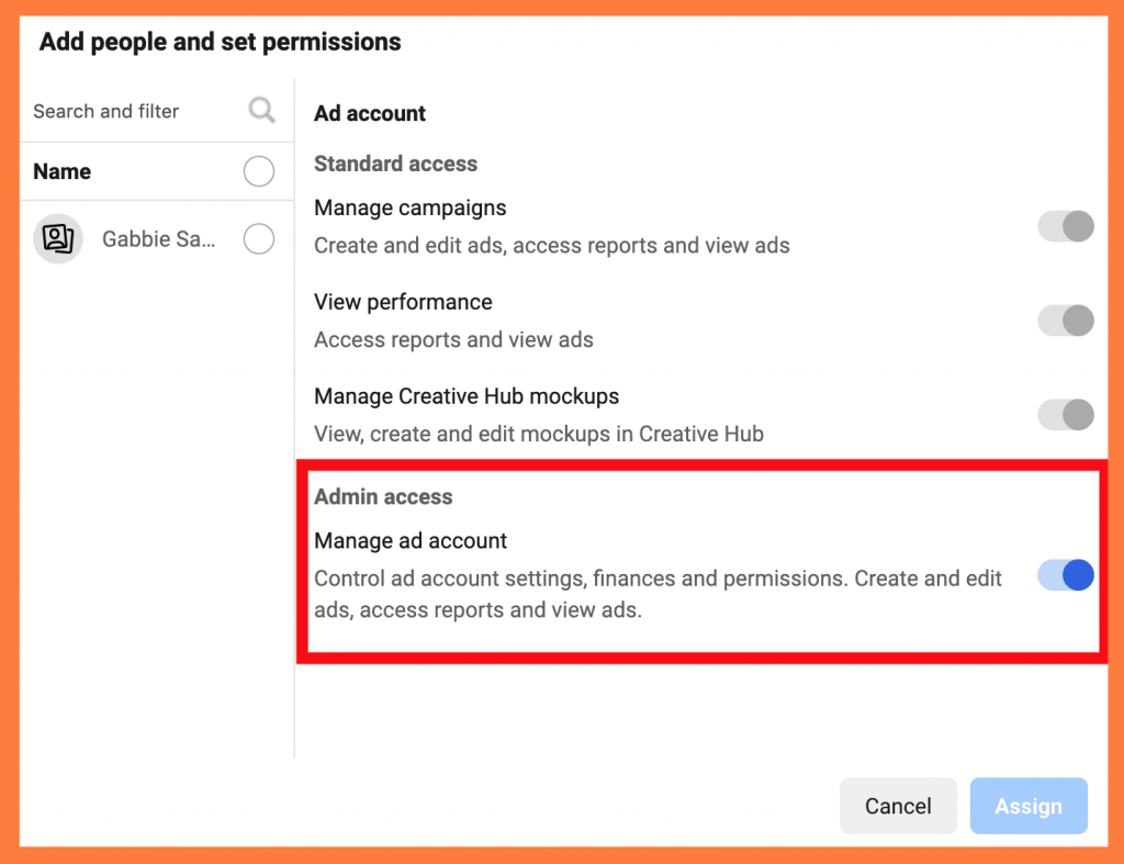 Business Manager ADMIN ACCESS