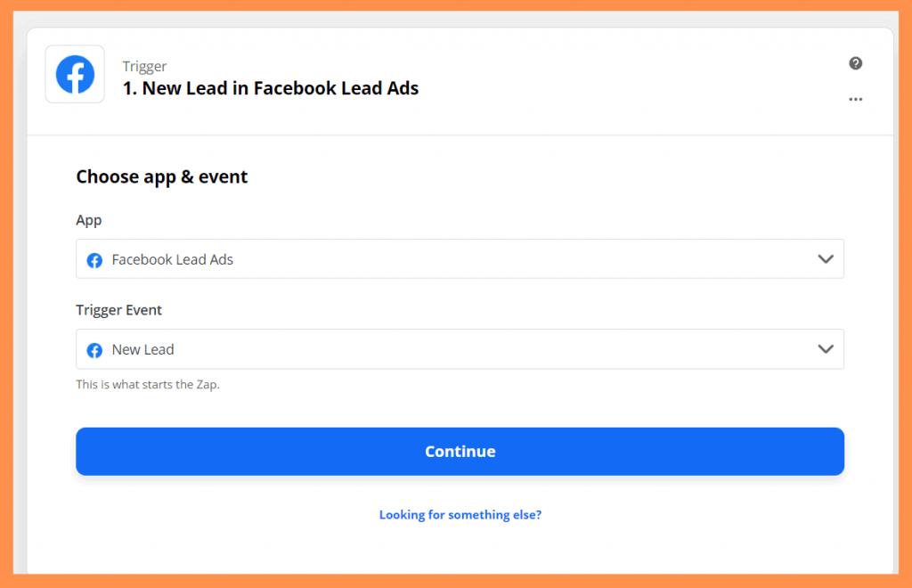 Zapier FB New Lead